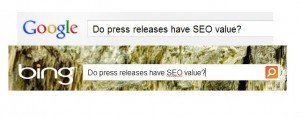 Do press releases have SEO value