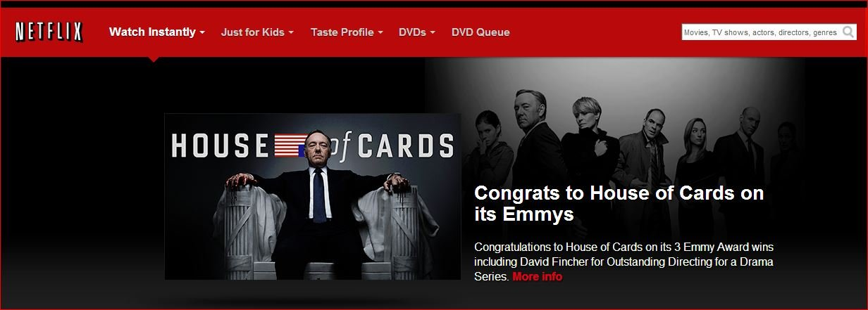 house of cards, emmy, future of marketing