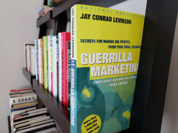 Six Tabbed Pages from Guerrilla Marketing [Tribute and Review]