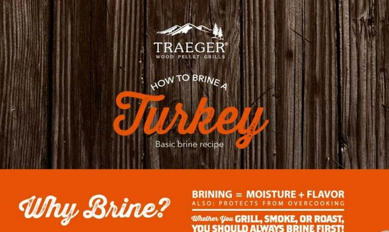 How to Brine a Turkey by Traeger