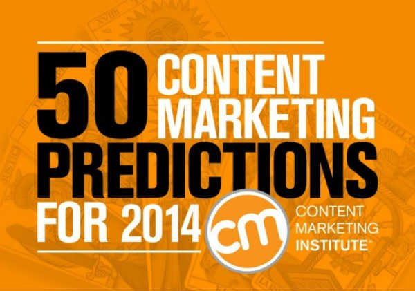 Focusing on a Few 2014 Content Marketing Predictions