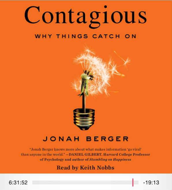 Five Takeaways from the Book Contagious
