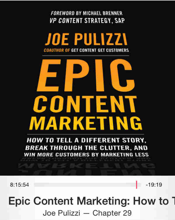 8 Epic Takeaways from Joe Pulizzi's Epic Content Marketing - Sword and the Script