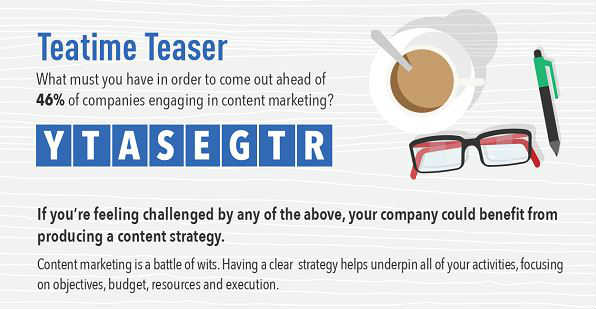 Content Marketing Strategy Conundrum