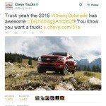 4 Creative PR Ideas for Crisis Communications-Chevy-Tweet