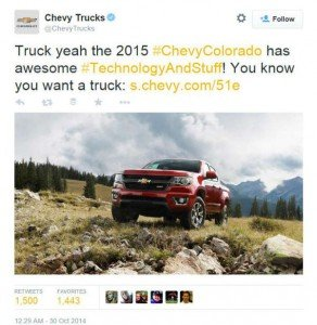 4 Creative PR Ideas for Crisis Communications-Chevy-Tweet