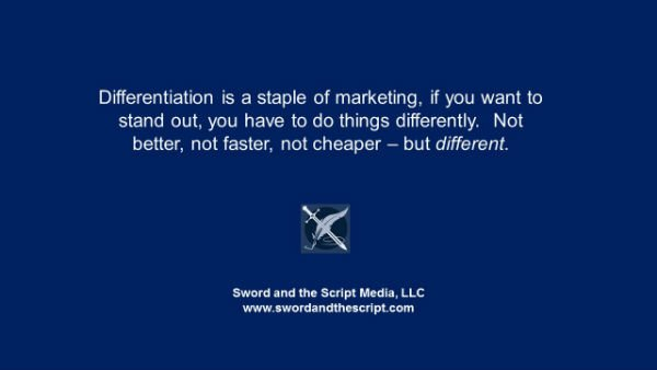 Differentiation is a staple of marketingx600