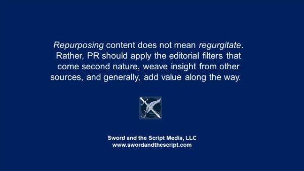 Repurposing content does not mean regurgitatex600