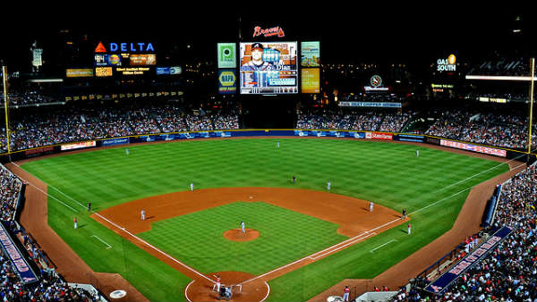 Turner Field Home of the Atlanta Braves