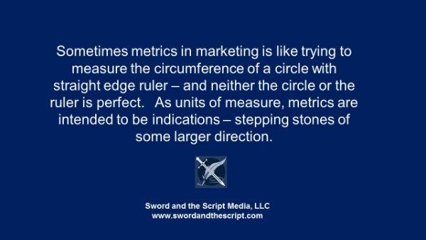 Metrics in Marketing, Comms and Social Media