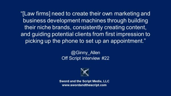 law firm marketing and business development machines -small