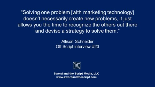 Solving problem marketing technology-small