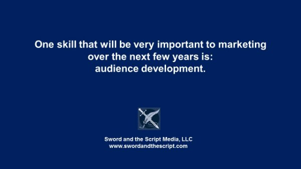 audience development is an emerging marketing skill