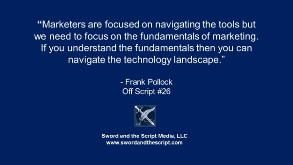 Marketers are focused on navigating the tools-s