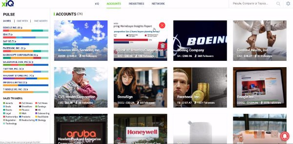 xiQ Mixes Content Curation with AI in Support of Account Based Marketing