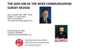 IABC Webinar Recap: The 2020 JOTW Communication Survey Review