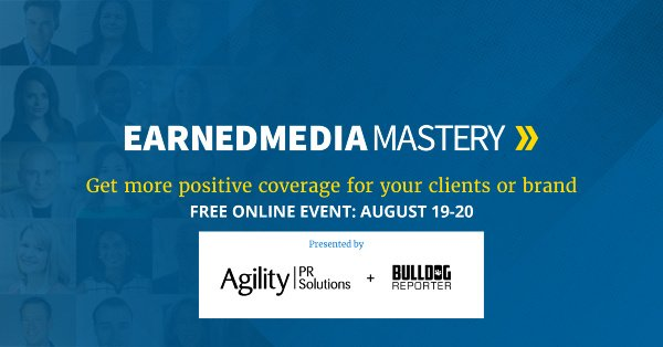 agility earned media mastery summit-s